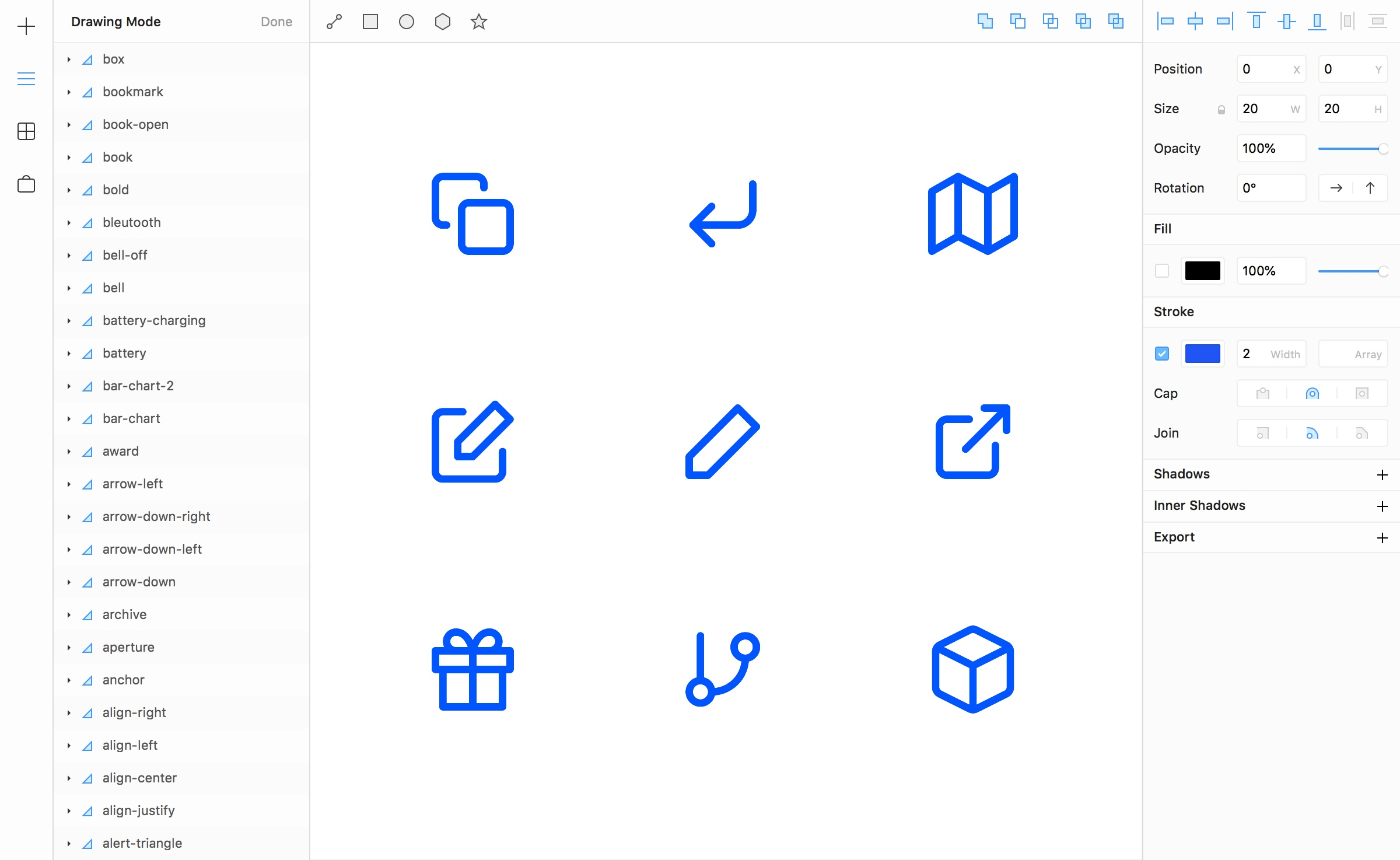 Framer Interactive Design Tool Screenshots From Android Electric Toolkit